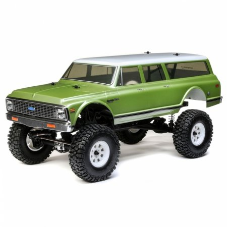 1972 Chevy Suburban Ascender-S: 1/10 4wd RTR