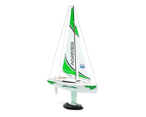 Voyager 280 Sailboat w/2.4GHz Transmitter (Green)