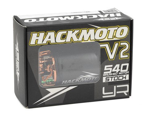 27T Hackmoto V2 540 Brushed Motor
