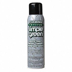Foaming Crystal Simple Green, 20oz Aerosol Can