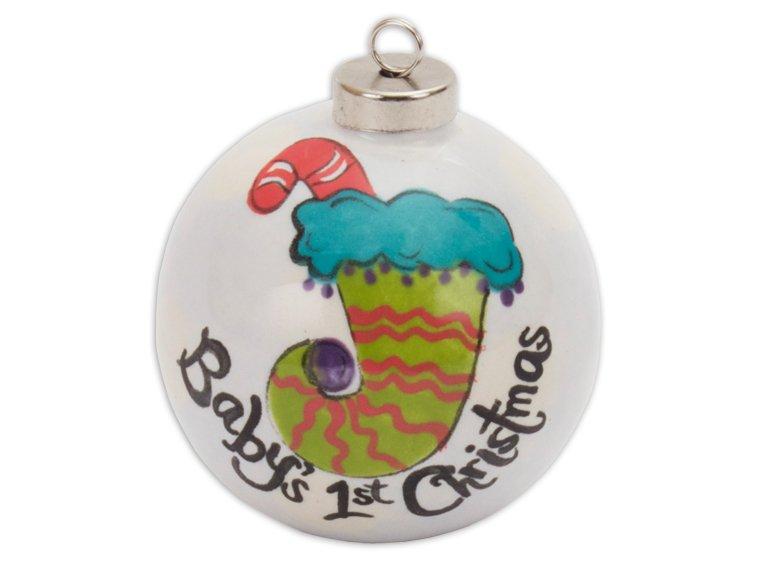 3 Silver Cap Ball Ornament