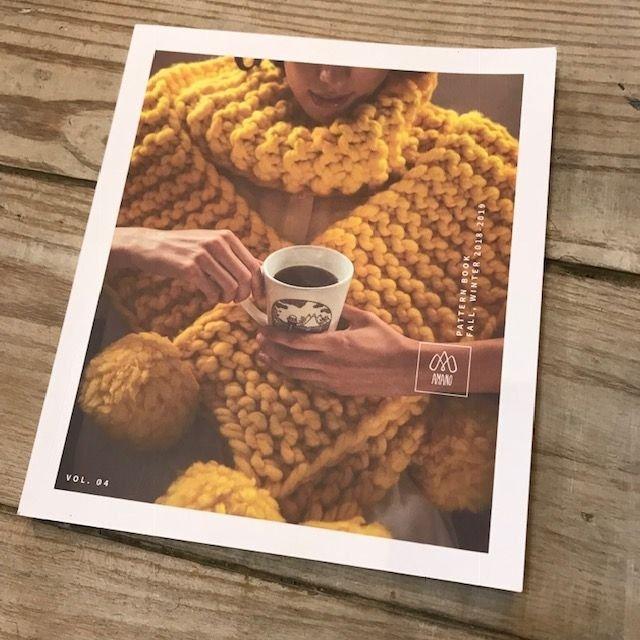 Amano Vol. 4 Fall, Winter 2018-2019 Pattern Book