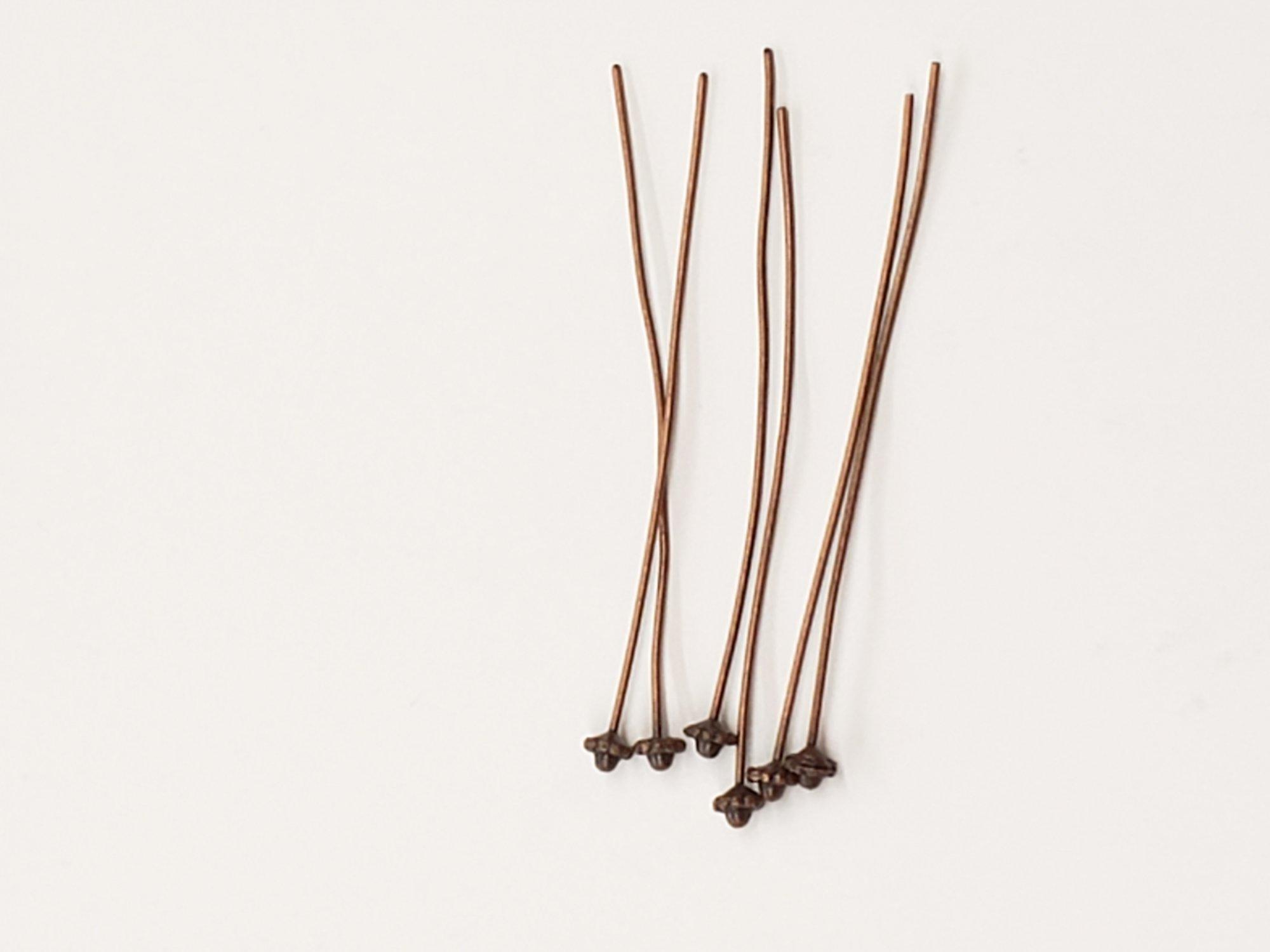 Copper Decorative Head Pins