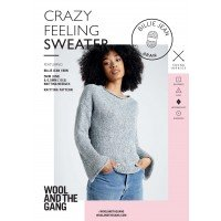Wool and the Gang Crazy Feeling Sweater Pattern Booklet