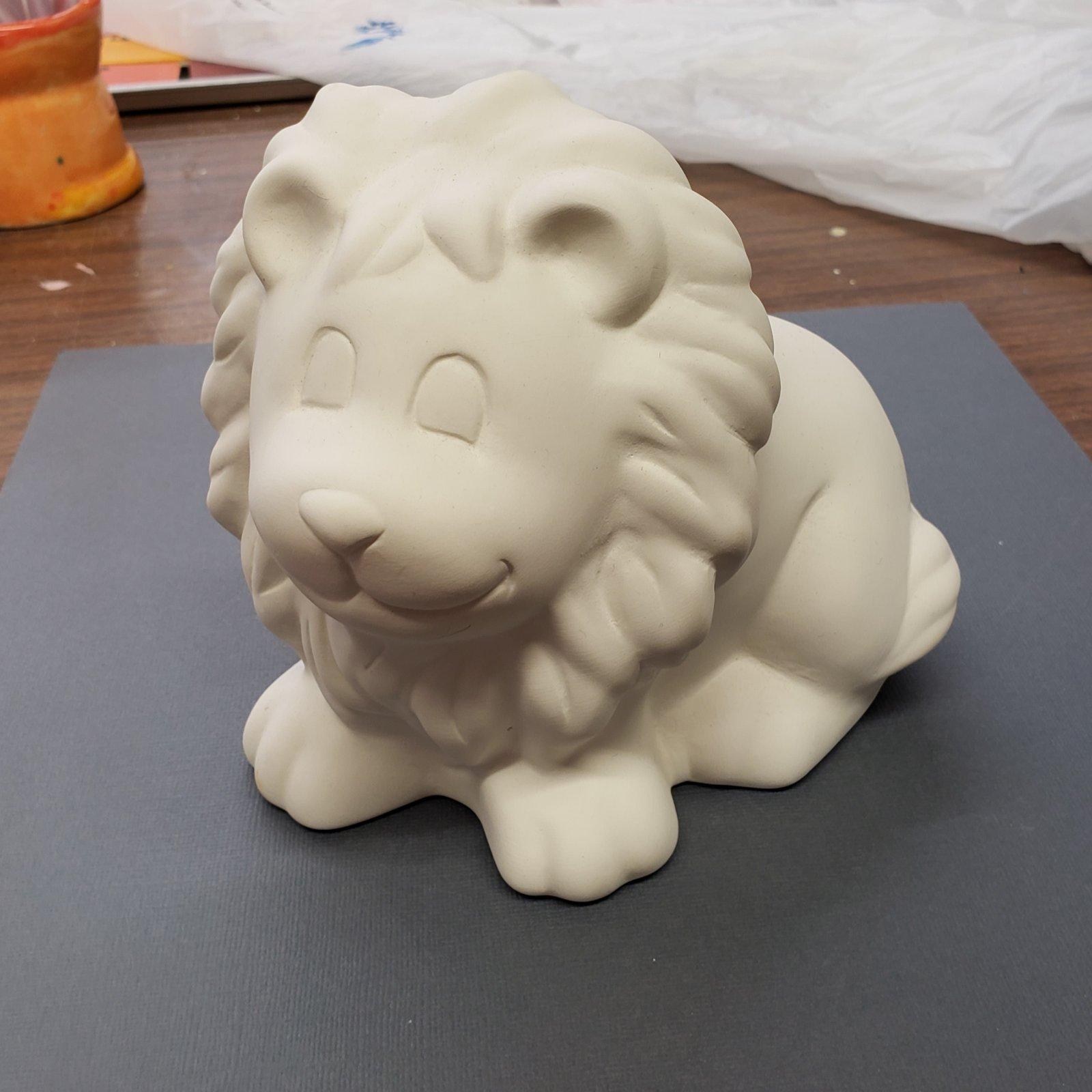 Cute Lion Bank