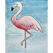 Flamingo Adult Paint