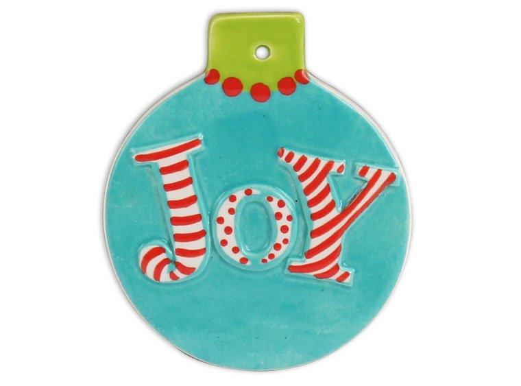 Flat Ball Joy Ornament