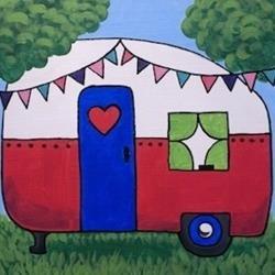 Happy Camper KidzPaint