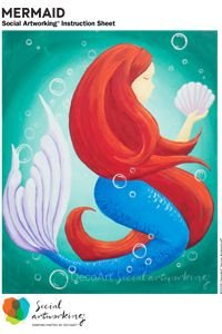 Mermaid Adult Paint