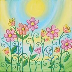 Spring Blooms KidzPaint