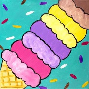 We All Scream For Ice Cream KidzPaint
