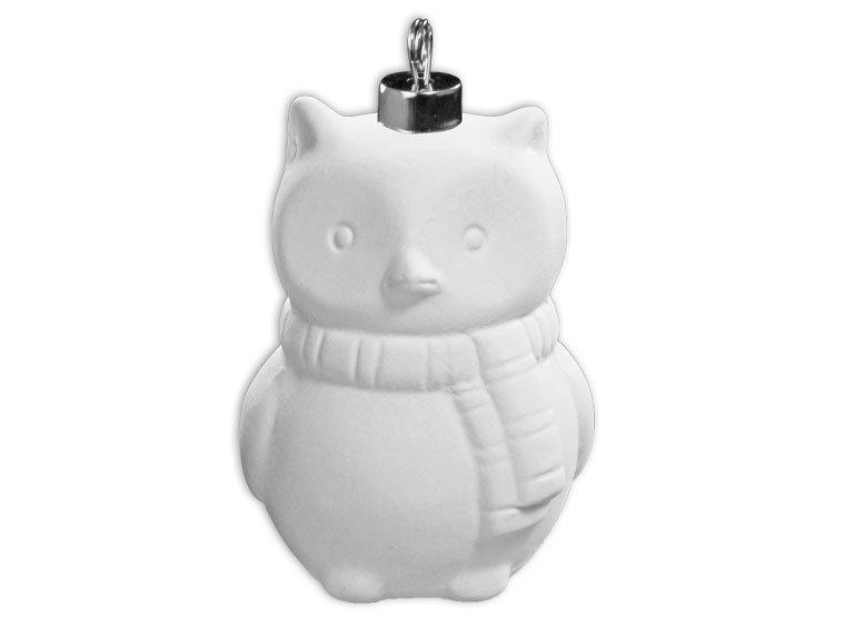 Winter Owl Ornament