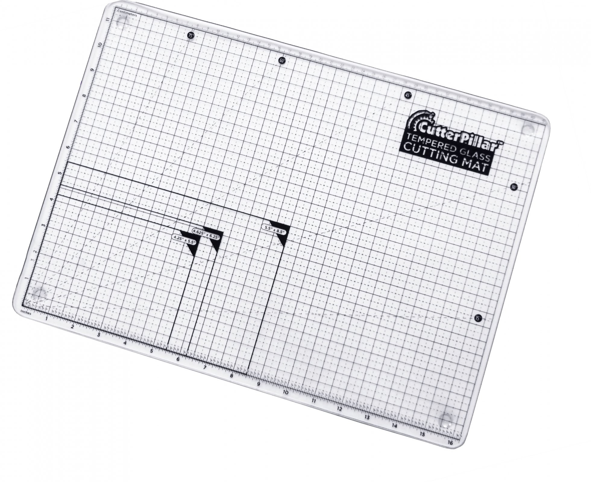 Cutterpillar Tempered Glass Cutting Board
