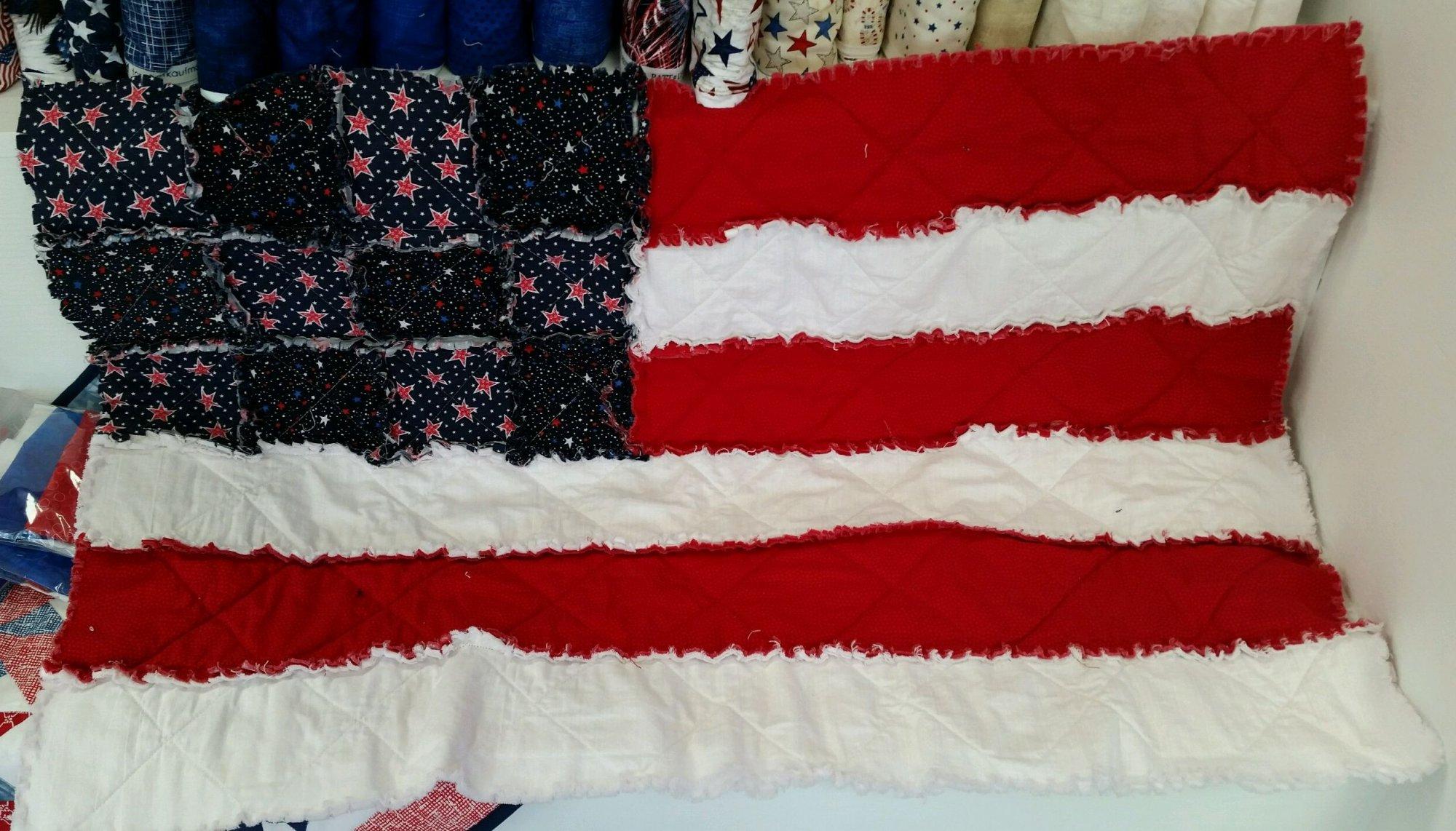 Rag Flag Quilt