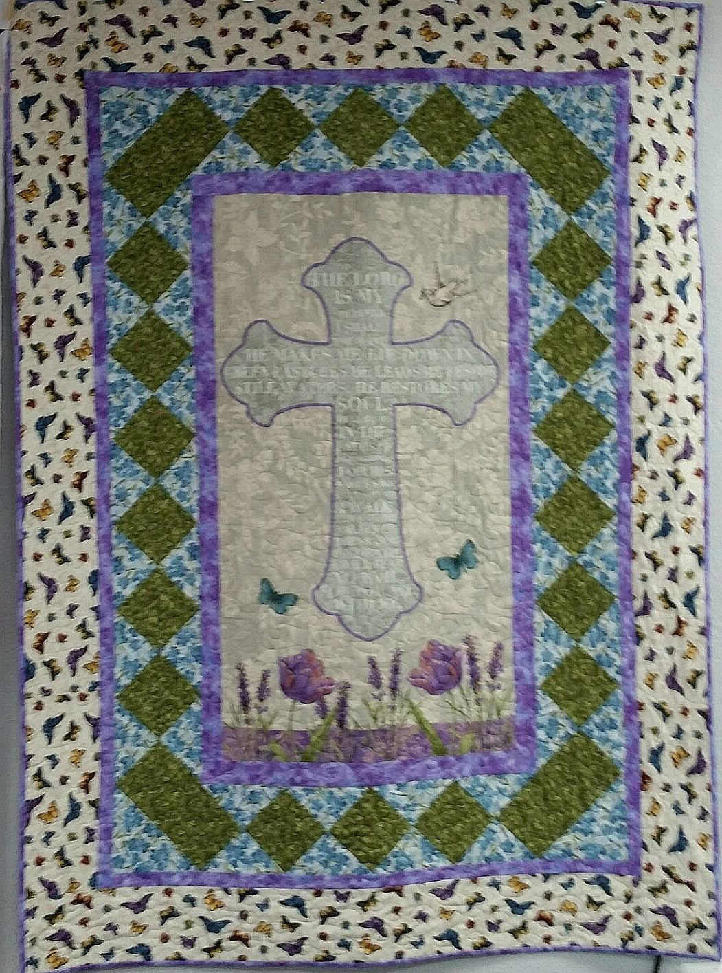 Walk by Faith Quilt