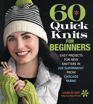 60 Quick Knits for beginners books