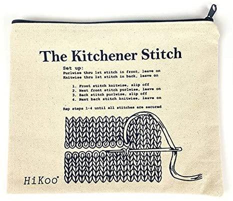 Kitchener Stitch bag
