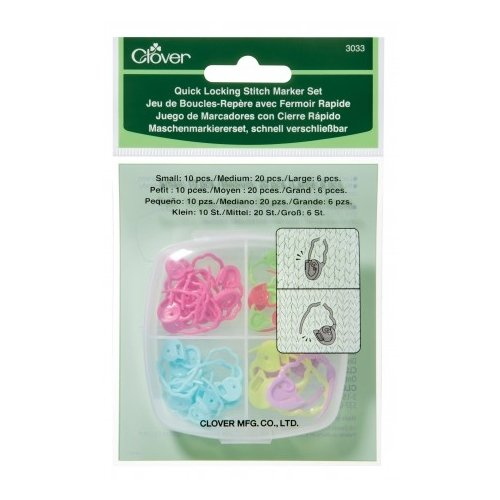 Quick Lock Stitch Marker Set