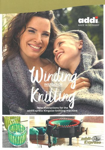 addi Winding instead of knitting