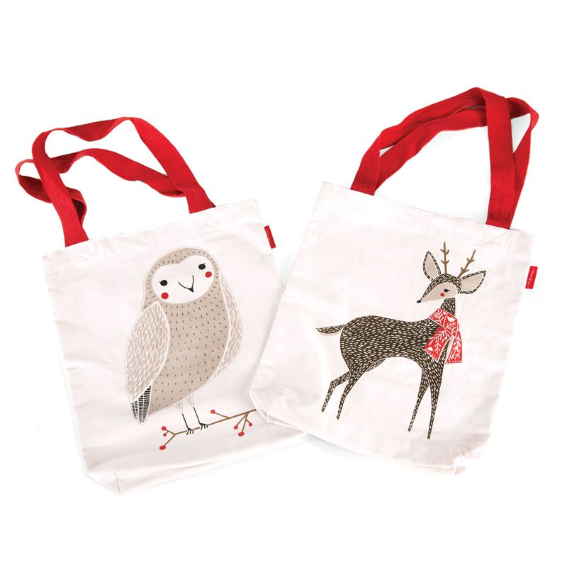 Merriment Tote Bag - Reindeer