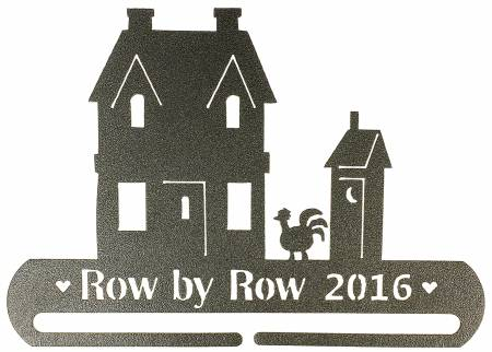 Row by Row 2016 - License Plate