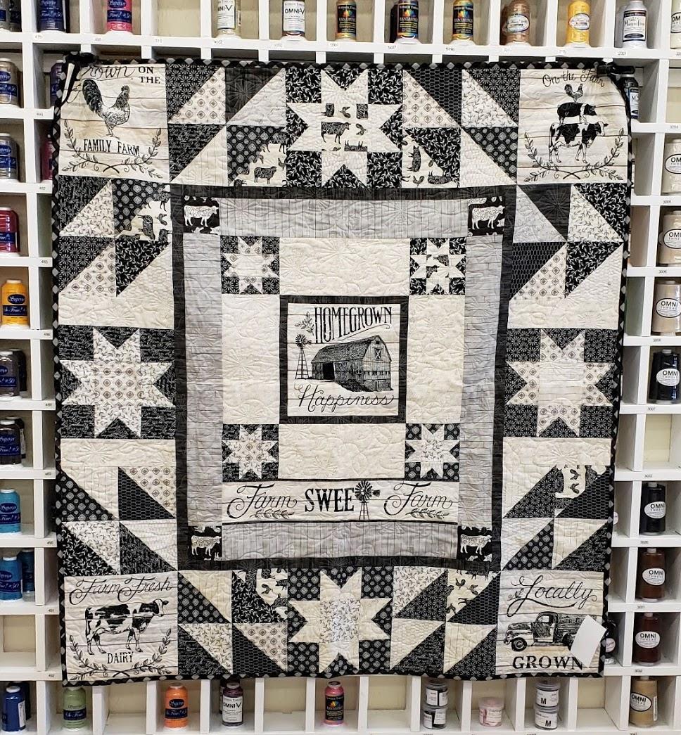 Homegrown Sample Quilt