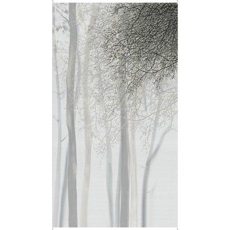 Artworks Xv OMBRE TREE PANEL GRAY