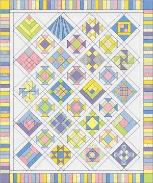 Half a Little Faith baby quilt