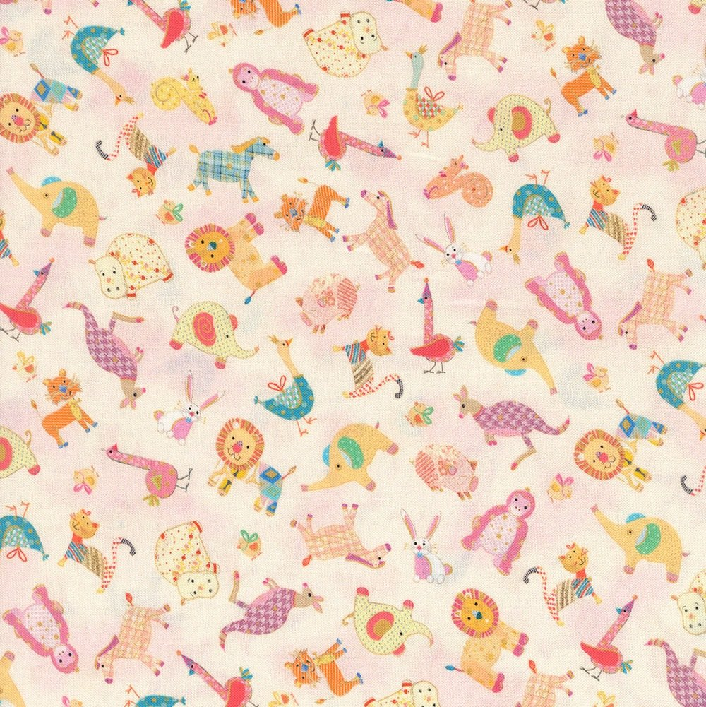 Animal Parade BABY ANIMAL TOSS BABY PINK