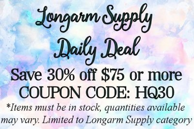 Longarm Supplies 30% off COUPON CODE: HQ30