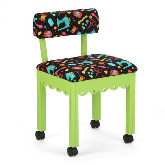 Black Sewing Notions Sewing Chair