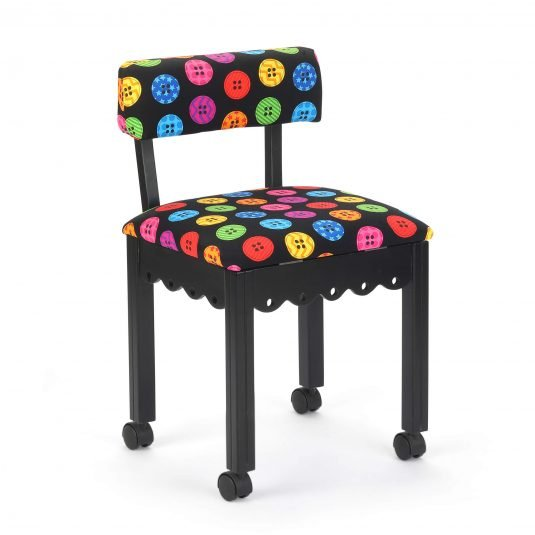 Bright Button Sewing Chair