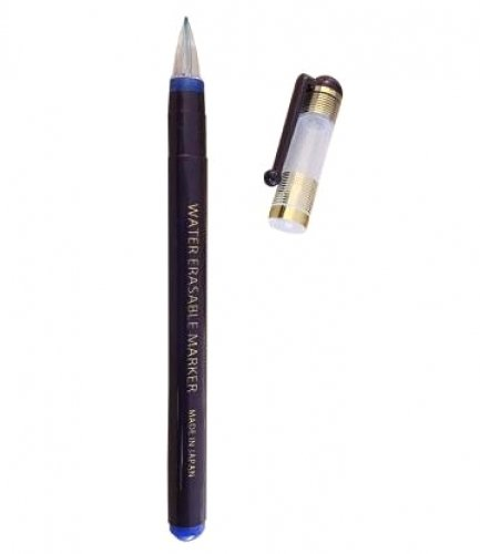 Water Erasable Extra Fine Point Blue Pen