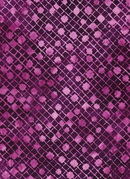 Batik Quiltessentials - Purple / Pink Dots