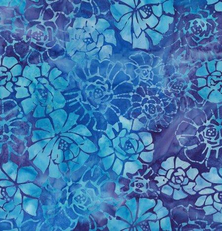 Batik Wheat Fields - Blue Pool