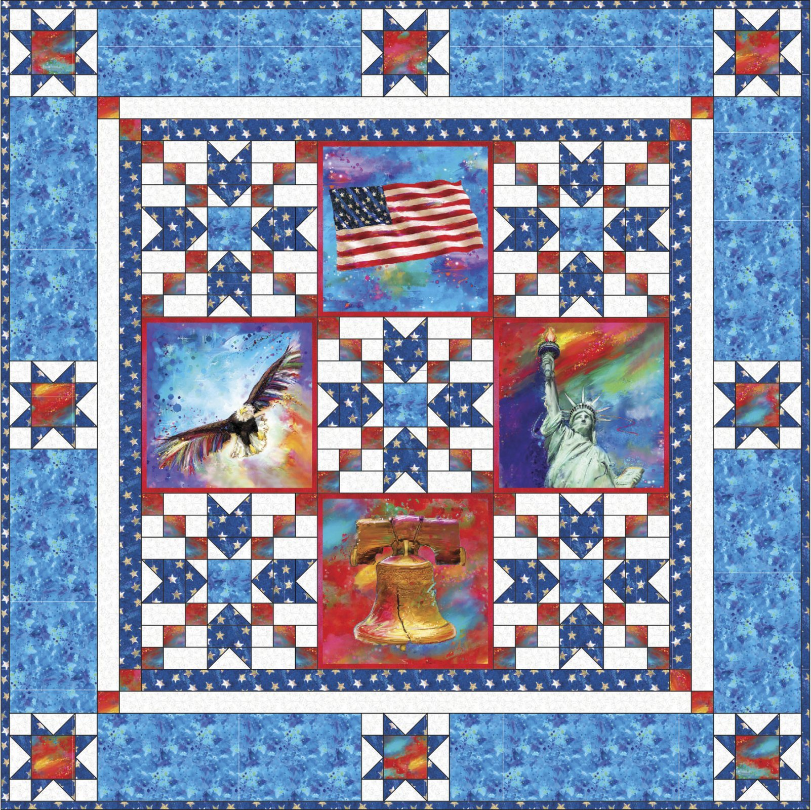 American Icon Quilt Pattern Free Download