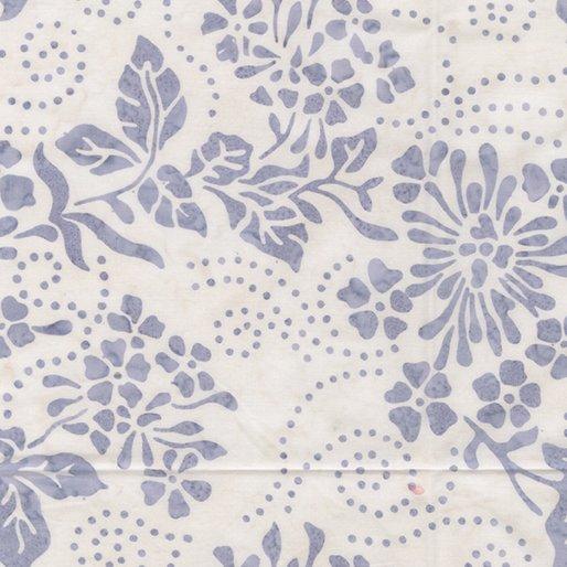 Batik Floral Spray - Lavender