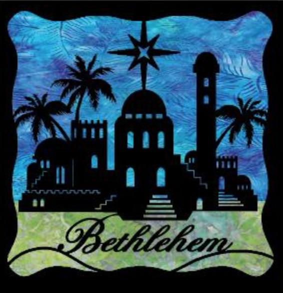 Bethlehem Laser Cut Silhouettes