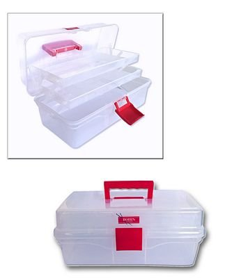 Bohin Clear Sewing Box