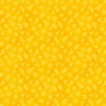 Color Coded - Yellow Shapes on Orange