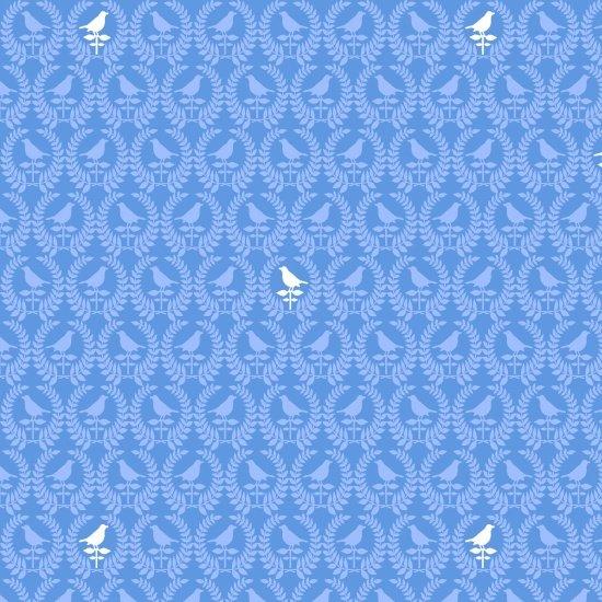 Birds of a Feather - Mini  Birds Blue