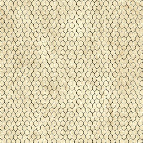 Love-4-Cotton Cream Chicken Wire