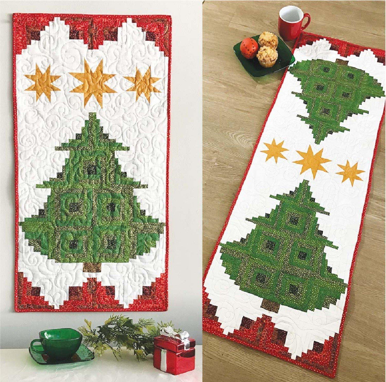 Pine Tree Banner or Table Runner