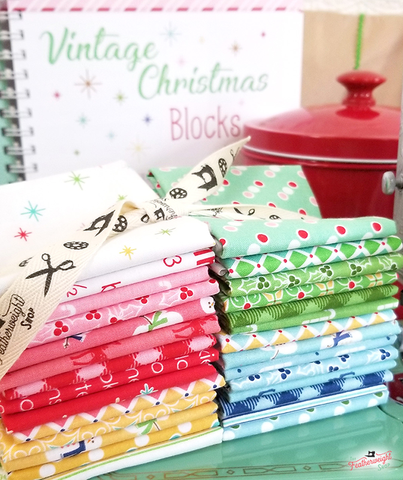 Cozy Christmas Mini Squares (set of 40)