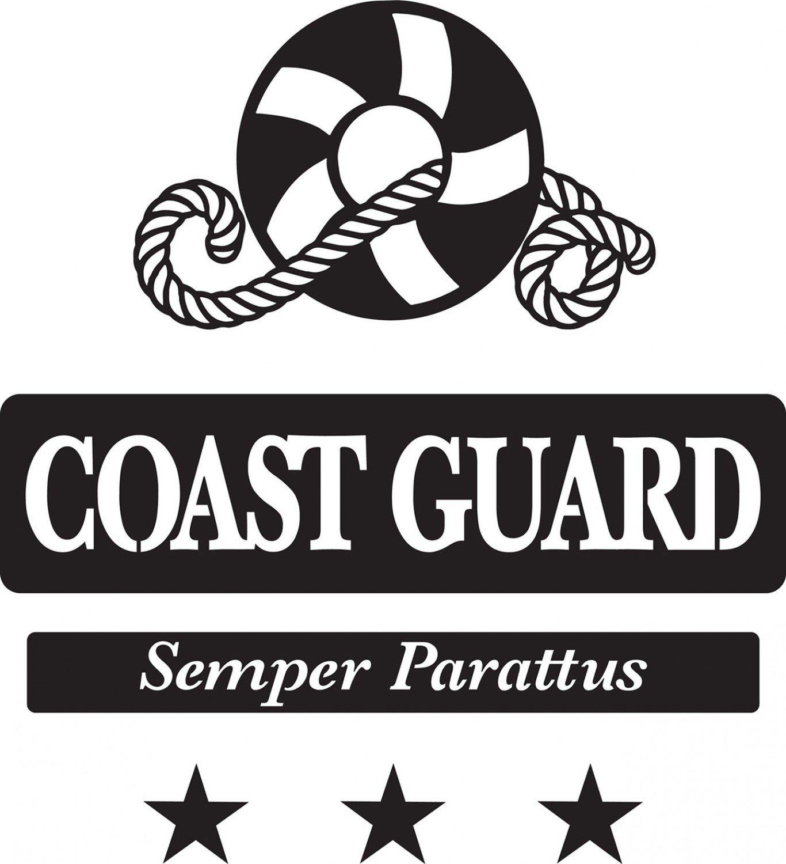 Coast Guard Creative Iron Stencil