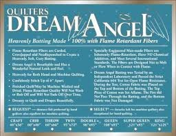Quilters Dream Angel Batting - Select Loft 61in x 15 yards (2 bolts)