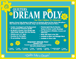 Quilters Dream Poly SELECT BLACK Batting - Craft