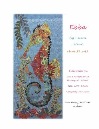 Laura Heine Collage - Ebba the Seahorse