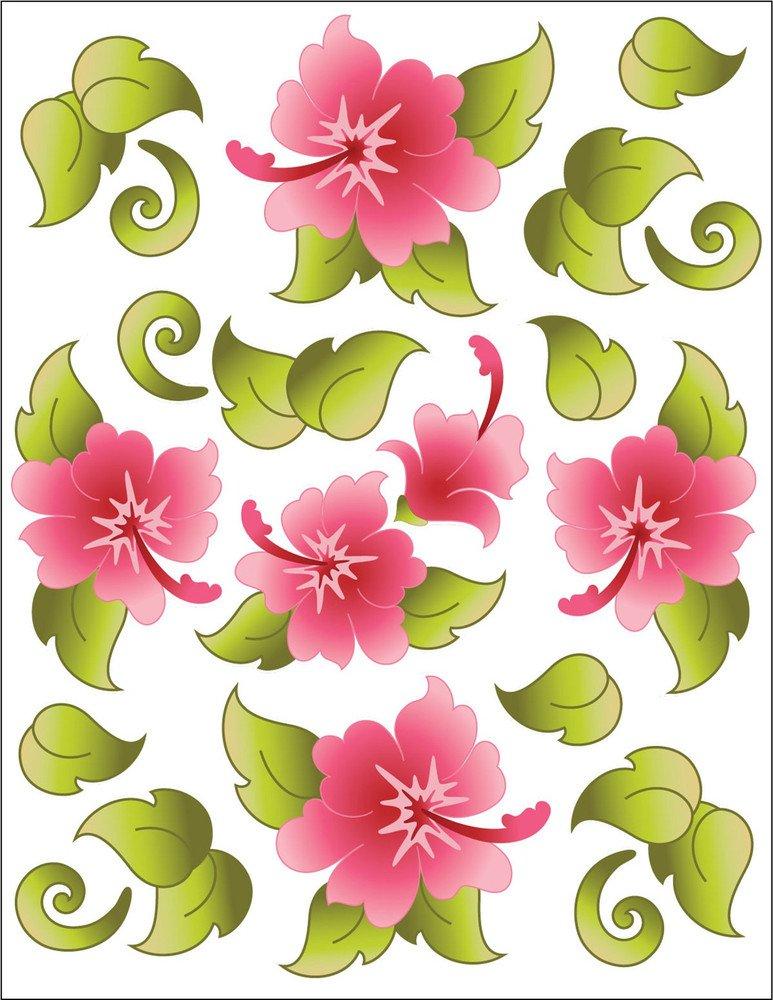 Urban Elements Tattoo Hawaiian Holiday Pink