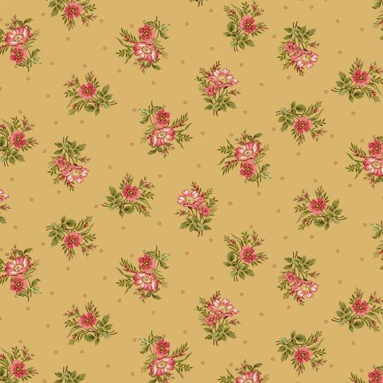 Savannah Garden - Small Bouquet on Golden Tan